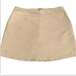 Under Armour Performance Womens Khaki Skirt 12